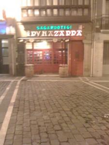 Sagardotegi Iruñazarra - Café Iruña--great pintxos!