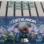 The Cortylandia Christmas display at El Corte Inglés