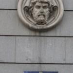 An adornment on Calle de Alcalá: maybe Neptune?
